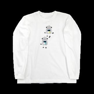 mashibuchiのロボット2 Long sleeve T-shirts
