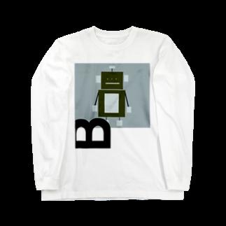 mashibuchiのロボットのB Long sleeve T-shirts