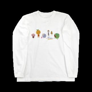 nachau7のアメリアさんの季節の旅 Long sleeve T-shirts