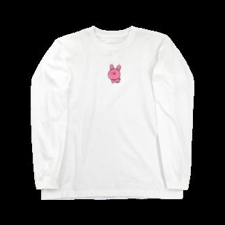 ライのうさきち(クレヨン) Long sleeve T-shirts