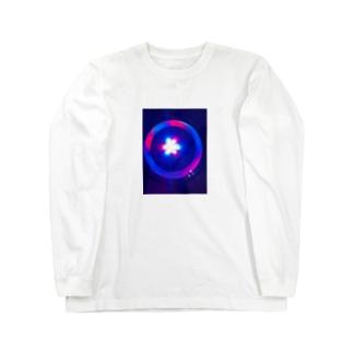 クラゲヒカリ Long sleeve T-shirts