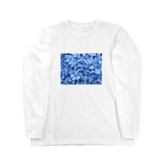 あじさい Long sleeve T-shirts
