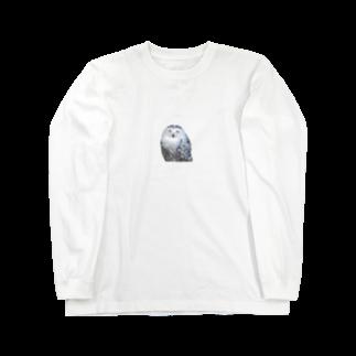 s_k_rの梟 Long sleeve T-shirts