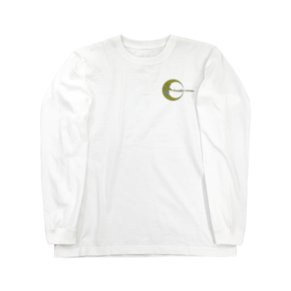 NOMAD-LAB The shopの月下美人(Beautiful woman) Long sleeve T-shirts