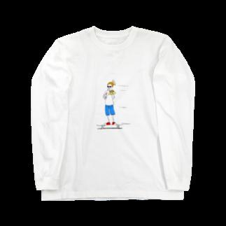s_uppo_nのハングリーボーイ Long sleeve T-shirts