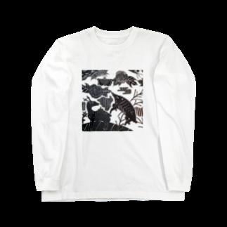 🔥Ryuu🔥絵描き師🔥依頼はDMください😄の猪鹿蝶 Long sleeve T-shirts