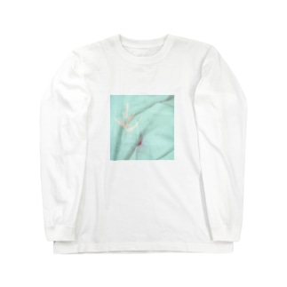緑シミ Long sleeve T-shirts