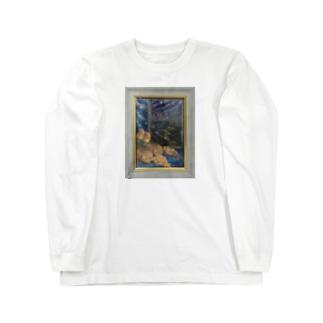 ひとり旅の夜 Long sleeve T-shirts