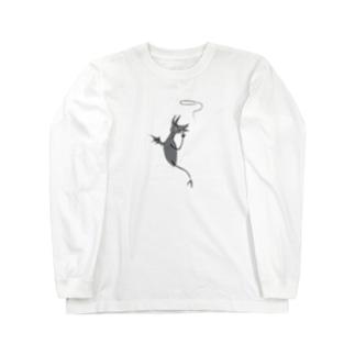 スモーキー君 Long sleeve T-shirts