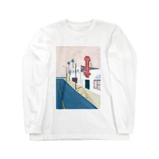 Nao TatsumiのSan Jose, California Long Sleeve T-Shirt