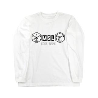 MICSUNLIFE コードネーム Long sleeve T-shirts