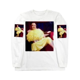 アムロにはなれなかったけどトシミ〜にはなれた女装3。  Long sleeve T-shirts