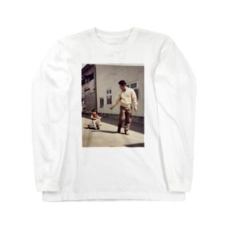 じいちゃんとの思い出 Long sleeve T-shirts