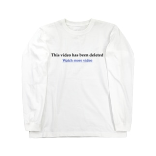 This video has been deleted Long sleeve T-shirts