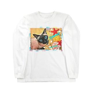 Uno Summer(貝殻) Long sleeve T-shirts