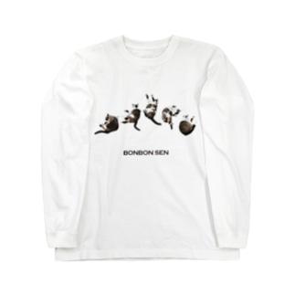 ゴロゴロ千坊 Long sleeve T-shirts