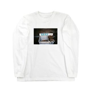 廃墟洗濯機/ウォッシングマシーン Long sleeve T-shirts