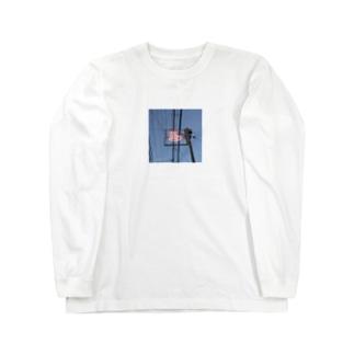 東京銭湯路線図 Long sleeve T-shirts
