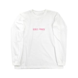 GIRLS POWER Long sleeve T-shirts