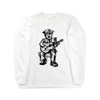 ブルースマン Long sleeve T-shirts