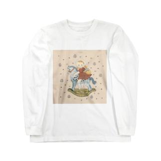 wooden horse Long sleeve T-shirts