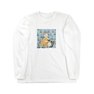 flower garden Long sleeve T-shirts