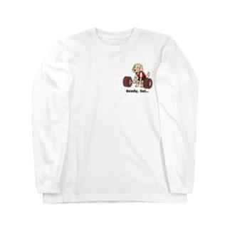 重量挙げ(両面2) Long sleeve T-shirts