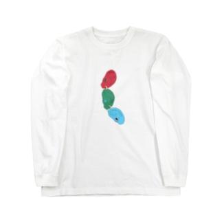 つらなる。 Long sleeve T-shirts