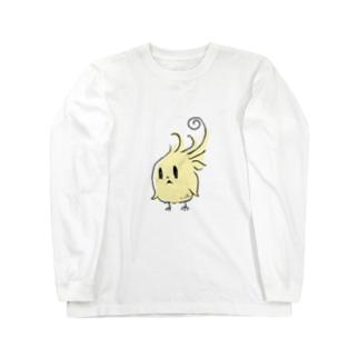 ピヨちゃん Long sleeve T-shirts