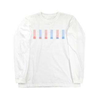 リトマス試験紙 Long sleeve T-shirts