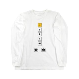 4階 Long sleeve T-shirts