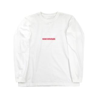 HARAWATANIEKURIKAERU red Long sleeve T-shirts