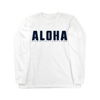 Just ALOHA Long sleeve T-shirts