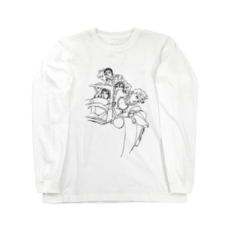 On the car Long sleeve T-shirts