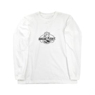 BREAK FAST Long sleeve T-shirts