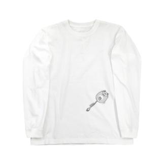 小脇にデグー Long sleeve T-shirts