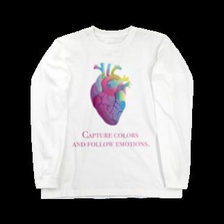 GEEZERの色を取り込み、感情に従え Long sleeve T-shirts