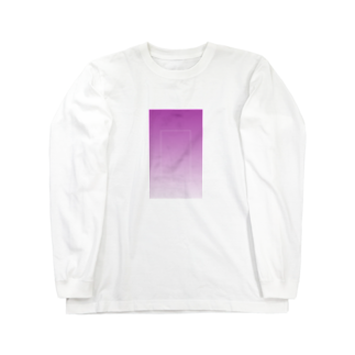 Rir_angの紫 Long sleeve T-shirts