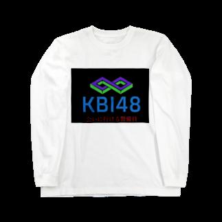 KBI48SHOPのKBI48ブラックタグバージョン Long sleeve T-shirts