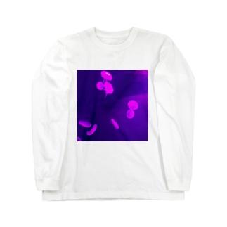 くらげプカプカ Long sleeve T-shirts