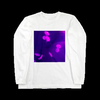 いねのくらげプカプカ Long sleeve T-shirts