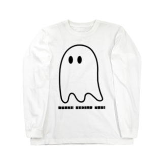 MymmyのOBAKE BEHIND YOU Long sleeve T-shirts