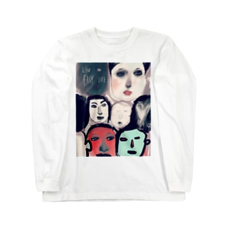 face Long sleeve T-shirts