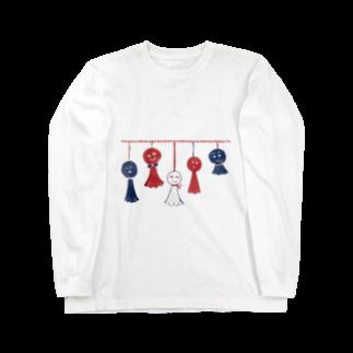akaneyabushitaの【日本レトロ#11】てるてる坊主 Long sleeve T-shirts