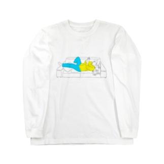 メガネ男子 Long sleeve T-shirts