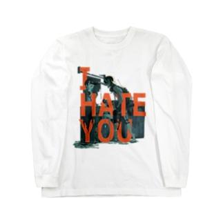I HATE YOU Long sleeve T-shirts