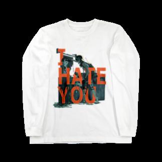 理想のTシャツ屋さんのI HATE YOU Long sleeve T-shirts