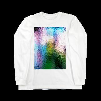 ◎さとうたまきらんど◎のガラス Long sleeve T-shirts