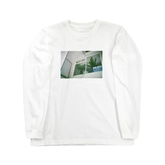 窓際の写真 Long sleeve T-shirts