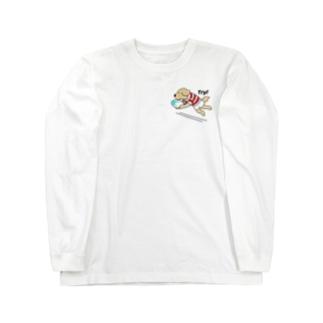 ラグビー(両面2) Long sleeve T-shirts